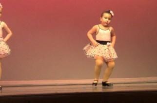 La pequeña bailarina que ha conquistado Internet