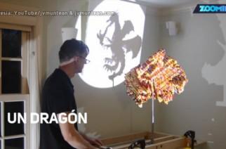 ¡Sombras chinas hechas con LEGOS!