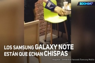 "Samsung Galaxy Note 7 ""On Fire"""