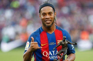 Ronaldinho pide quitar el 10 cuando Messi se retire